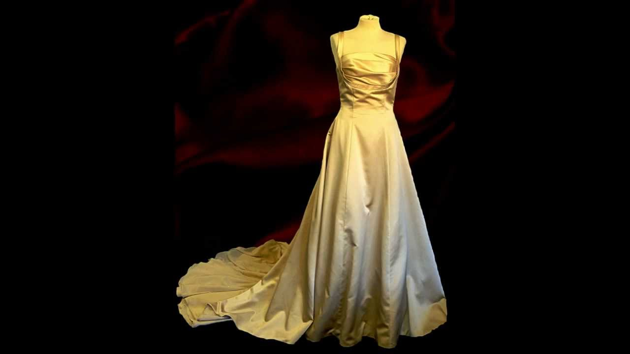 Wedding dresses at Oxfam Cambridge - YouTube