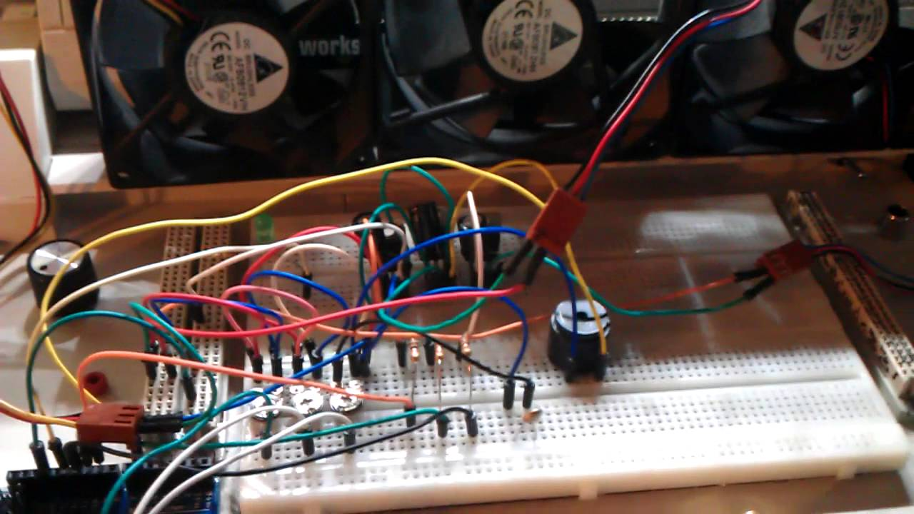 Temp Controlled Pwm Fan Controller Update Youtube Temperature Regulator Electronic Circuits And