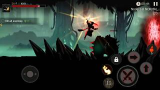 Shadow of Death: Dark Knight - Stickman Fighting (by Zonmob) / Android Gameplay HD screenshot 4