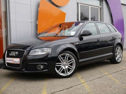 2010 audi a3 s line sportback 1 6tdi start stop for sale in hampshire youtube. Black Bedroom Furniture Sets. Home Design Ideas