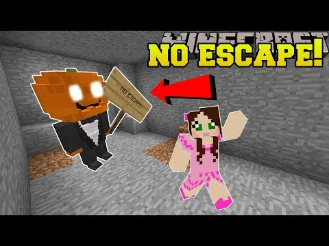 Minecraft: THIS MAZE HAS NO ESCAPE!! - Halloween Maze - Custom Map