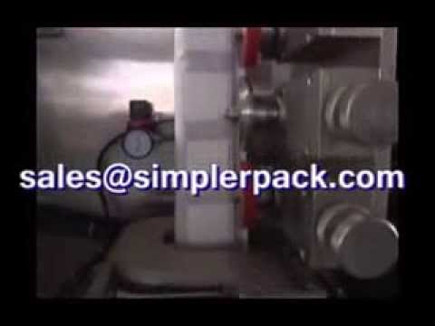 Brazil hangers coffee packaging machinery, automatic outer bag and inside the bag!