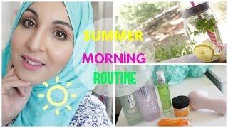 Ma routine de l'été ☀️ My summer morning routine !