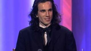 "Daniel Day-Lewis winning an Oscar®  for ""My Left Foot"""