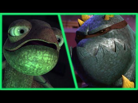Spike Becomes Slash - Teenage Mutant Ninja Turtles Legends Спайк Стал Слэшем - ЧН Легенды