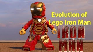 Evolution of Lego Iron Man (2013 - 2017) (PS3 , PC , XBOX360 , PS4)