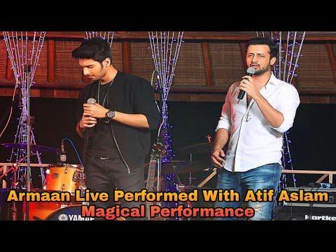 Armaan Malik Live With Atif Aslam || Singing & Live Performed