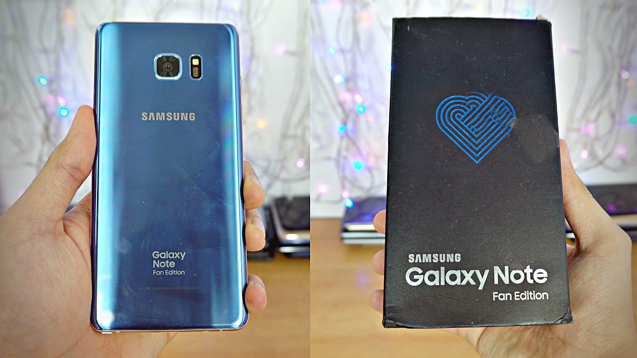 Samsung Galaxy Note Fe Unboxing First Look 4k Youtube