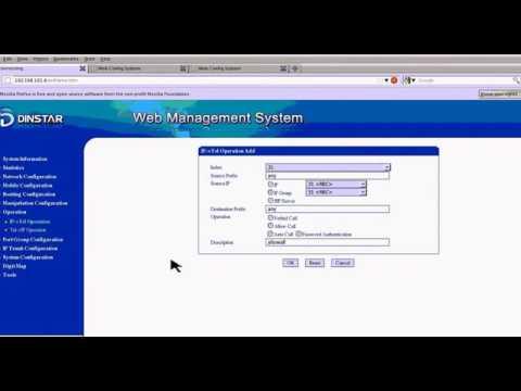 DINSTAR Device Configuration