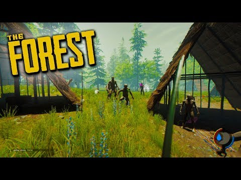 SURVIVING A PLANE CRASH! - The Forest Multiplayer Gameplay! (Episode 1)