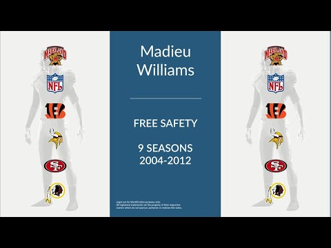 Madieu Williams: Football Free Safety