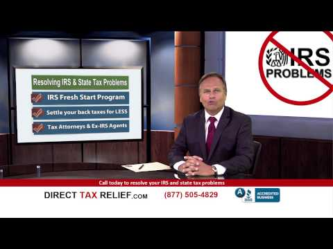 IRS Fresh Start Program - Direct Tax Relief