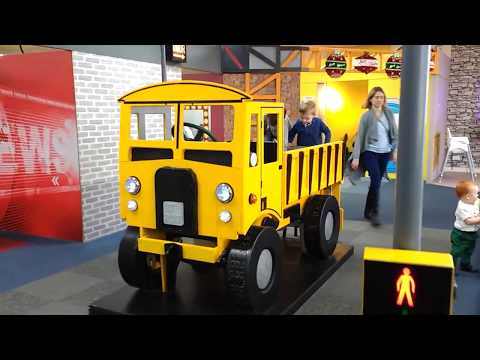 Kids museum Imagine That Liverpool family fun activities, building, sand water home ed learning