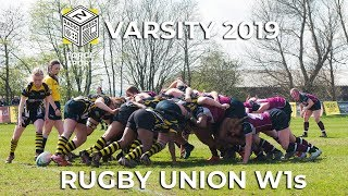Varsity 2019 LIVE: Women's Rugby Union 1s