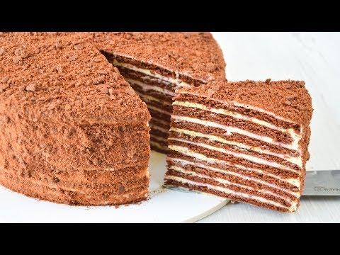 Вопрос: Как приготовить торт на плите?