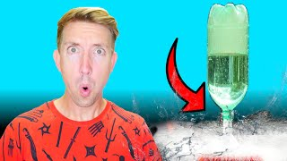 Water Bottle Rocket?! - Top 5 Water Bottle Flip Toys on Amazon Put to the Test (Unboxing Review)