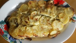 Филе пангасиуса запеченное с картофелем Рыба запеченная с картошкой