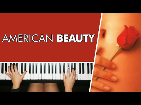American Beauty / Angela Undress - Piano Cover