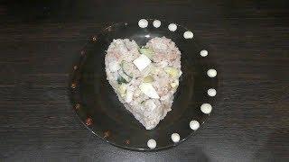 Обалденный салат с тунцом и рисом!
