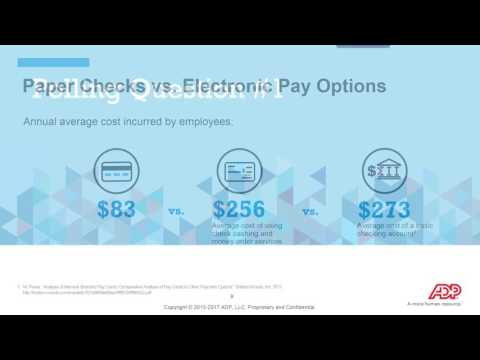 Paper Or Plastic? Key Insights To Help Drive Paperless Payroll Adoption