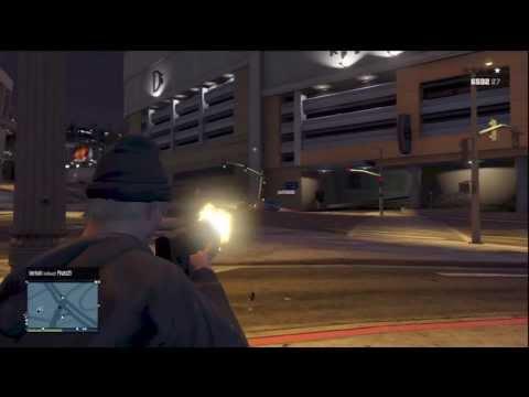 Killing Random People in GTA Online! Major Rampage! (Jets Included)