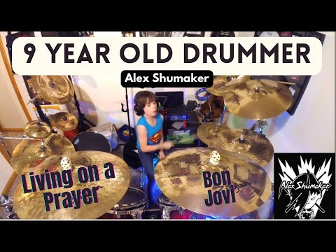 Alex Shumaker Drum Cover Bon Jovi