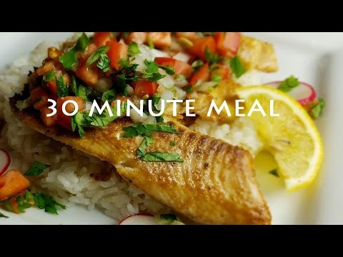 QUICK TILAPIA AND RICE That Will Have You WANTING MORE