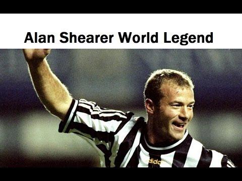 Review Alan Shearer World Legend