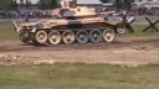 CRUSADER Tank at Bovington Tankfest 2008
