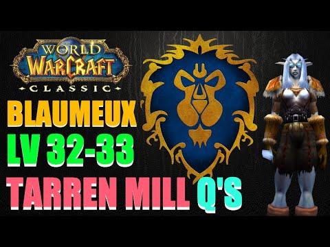 WoW Classic | Night Elf Hunter | Server: Blaumeux (PvP) | Level 32-33 | Video 27 | Tarren Mill Q's