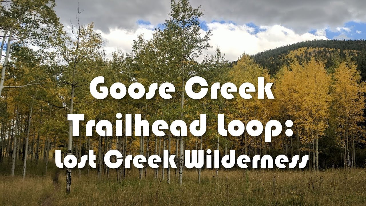 Goose Creek Trailhead Loop: Lost Creek Wilderness