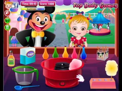 Игра Малышка Хейзел в диснейленде. Baby Hazel in Disneyland Full Episodes