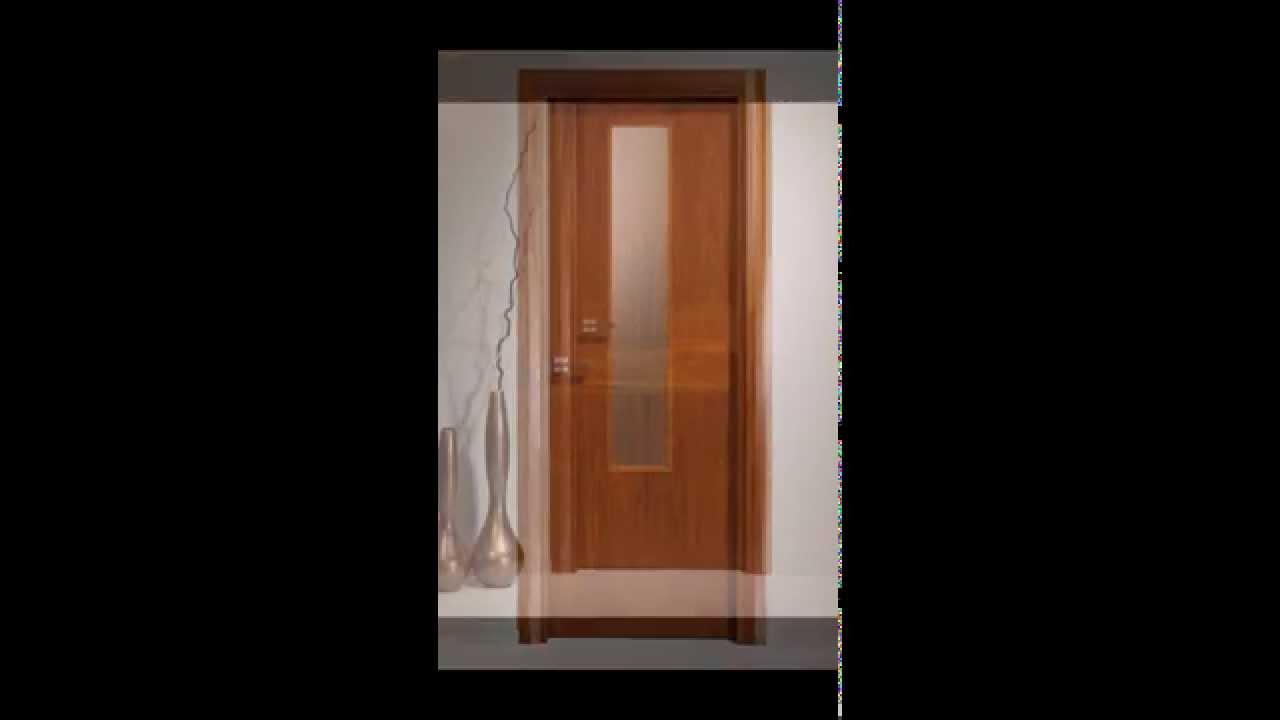 Puertas de interior de madera cifema youtube for Catalogo de puertas de interior