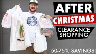Deal Shopping Time! After Christmas Clearance Shopping! CHRISTMAS HAUL!