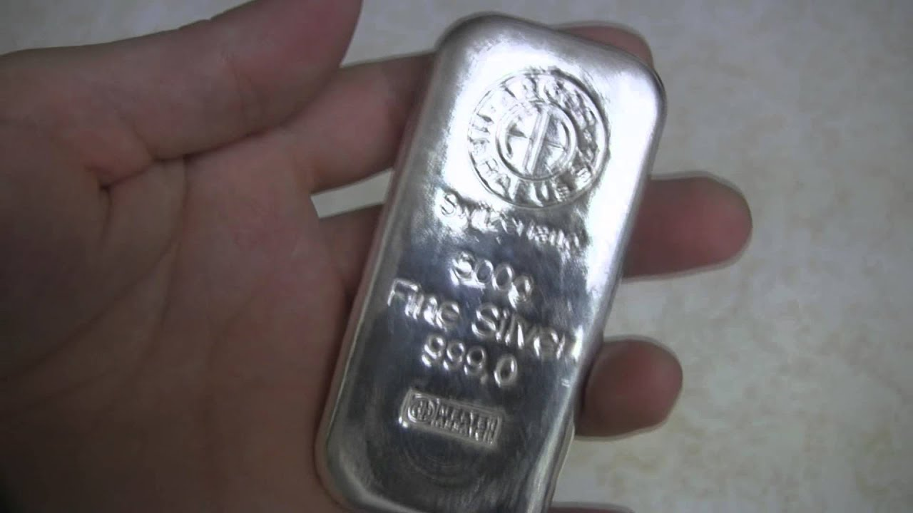 Argor Heraeus 500g Silver Bar Review Youtube