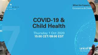 Leading Minds to tackle COVID-19 and Child Health