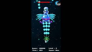 chicken shooter space attack - a game android very difficult for play
