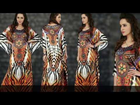 image of kaftan dresses youtube video 2