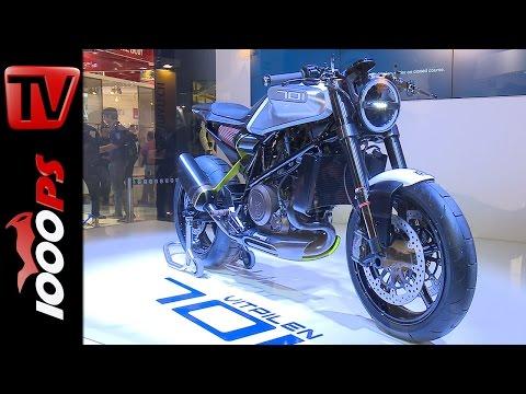 Husqvarna Vitpilen 701 Concept | Motor, Design, Infos