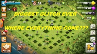 BIGGEST GLITCH EVER IN CLASH OF CLANS HISTORY | SCARY MOMENT | COC TROLLING ME