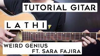 Download lagu (Tutorial Gitar) WEIRD GENIUS Ft. Sara Fajira - Lathi | Lengkap Dan Mudah