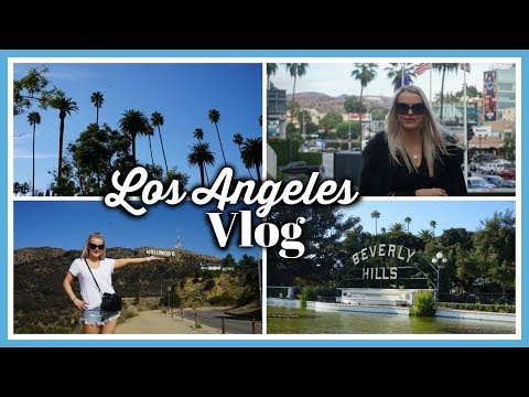 LA TRAVEL VLOG 2017 | Warner Bros Studio Tour, Shopping & Mo