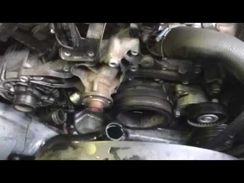 Water Pump Removal Mercedes Benz E320 V 6 Youtube