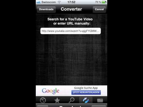Cydia YouTubeTo mp3