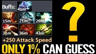 Secret Hard carry ONLY 1% Can Guess - IMBA Buff Talent Tree Hero Solo Mid Dota 2