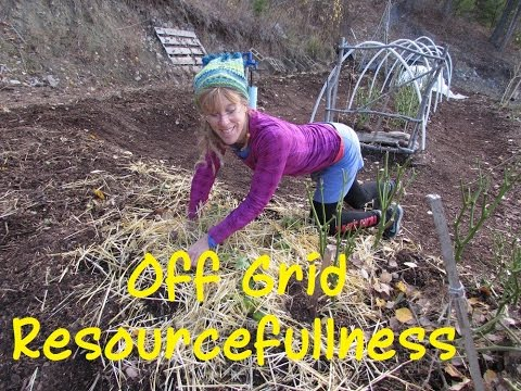 Debt Free Slave Free Off Grid Living: Resourcefulness On The Homestead