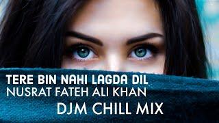 TERE BIN NAHI LAGDA ft. DJM | NUSRAT FATEH ALI KHAN |  tere bin nahi lagda dil
