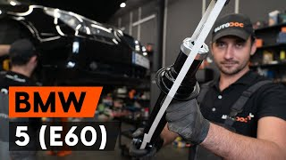 Como substituir amortyzatory traseira no BMW 5 E60 Sedan [TUTORIAL AUTODOC]