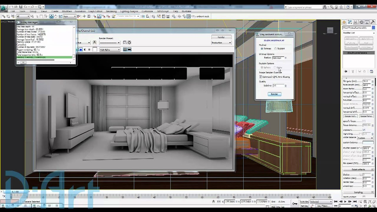 Vray Ambient Occusion Script.mp4 - YouTube