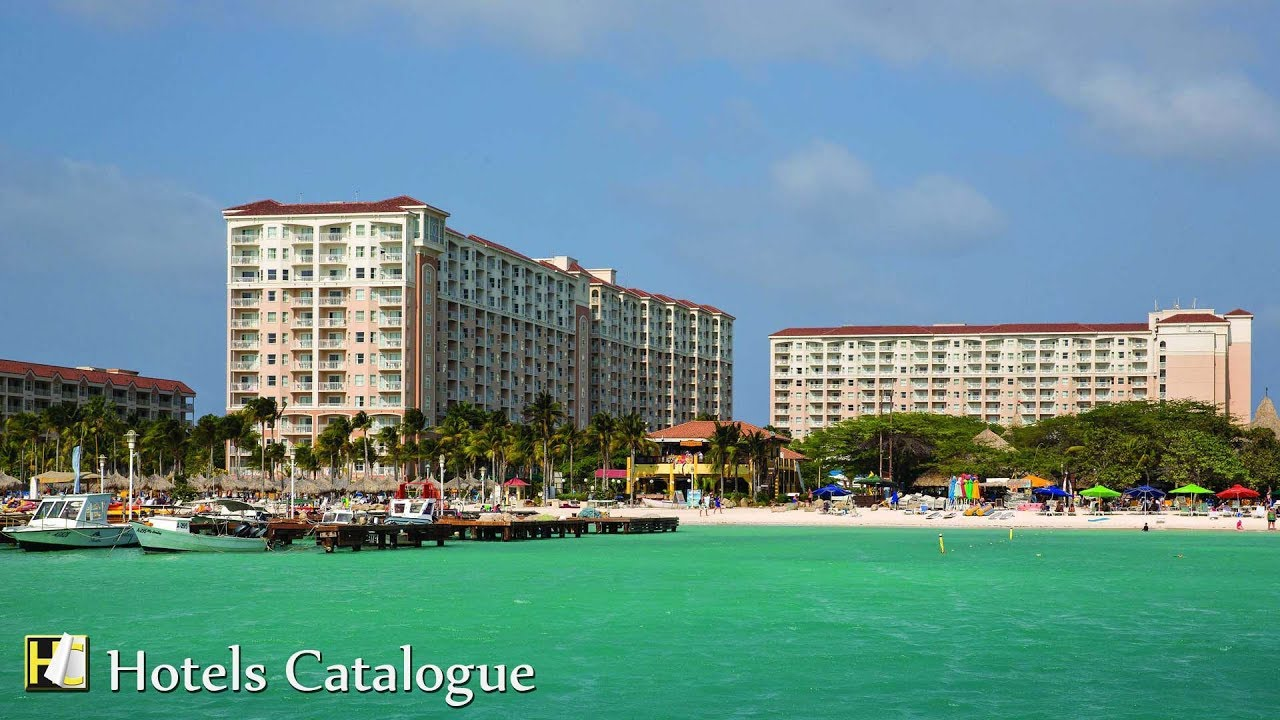 Marriott s aruba surf club palm beach resort aruba vacation hotel tour